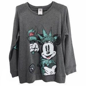 Mickey Mouse New York City Disney Sweatshirt Top